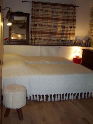 Chambre avec 2 lits en 90