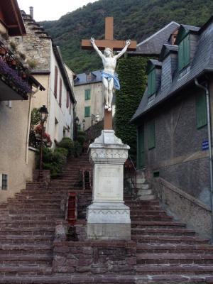 Escalier en marbre de Cierp